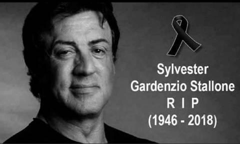 Σοκ: «Πέθαναν» πρόωρα τον Σιλβέστερ Σταλόνε (Pics)