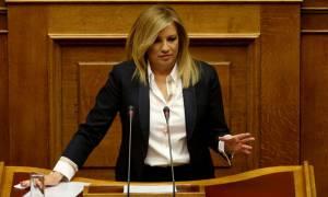 Γεννηματά: Η Ελλάδα πρέπει να θέσει το ζήτημα των τουρκικών προκλήσεων στις Βρυξέλλες