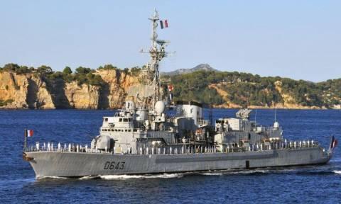 Κυπριακή ΑΟΖ - Αποκάλυψη: Αυτή είναι η γαλλική φρεγάτα που έσπασε το «μπλόκο» των Τούρκων (pics)