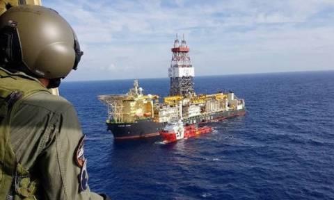 Θρίλερ στην Κύπρο: Νέο επεισόδιο με το ιταλικό γεωτρύπανο - Οι Τούρκοι απείλησαν να το βυθίσουν