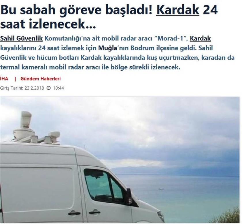ΣΟΚ στα Ίμια: Αυτό το τουρκικό ραντάρ ελέγχει τα Ίμια 24 ώρες - Δείτε φωτογραφίες