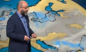 Καιρός – Αρναούτογλου: Θα χιονίσει και στο κέντρο της Θεσσαλονίκης