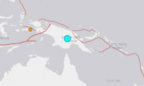 Σεισμός ΤΩΡΑ: Ισχυρή δόνηση 7,5 Ρίχτερ ταρακούνησε την Παπούα Νέα Γουινέα