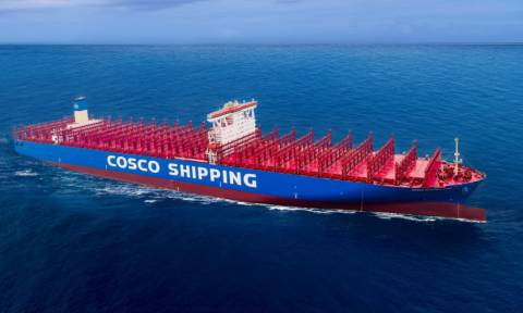 Στον Πειραιά τη Δευτέρα (26/02) το μεγαλύτερο πλοίο που έχει υποδεχθεί ποτέ το λιμάνι