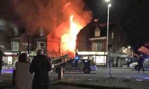 Έκρηξη στο Λέστερ: Στο νοσοκομείο τέσσερα άτομα - Αποκλείουν το ενδεχόμενο τρομοκρατίας (vid)