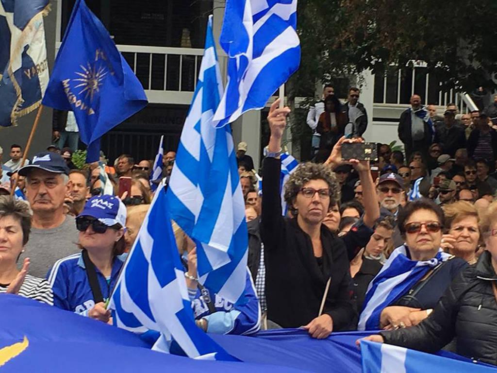 Η Μελβούρνη διαδήλωσε για τη Μακεδονία: «Ελλάς - Ελλάς Μακεδονία» φώναξαν χιλιάδες Έλληνες