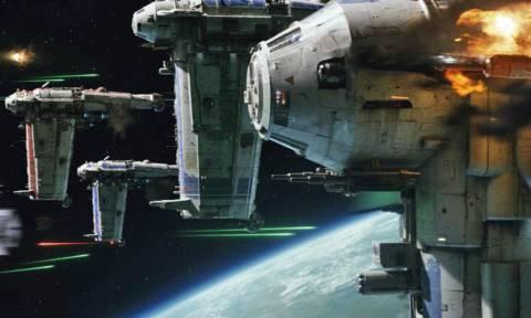 Μεγάλο σκάλωμα: Δείτε πως γυρίστηκε η αρχική σκηνή μάχης στο «The Last Jedi»!