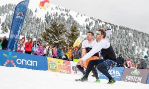 Ο ΟΠΑΠ μεγάλος Χορηγός του 1ου Πανελλήνιου Πρωταθλήματος Snow Volley στα Καλάβρυτα
