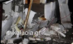 Καιρός: Νύχτα θρίλερ στα Τρίκαλα - Καταρρέουν σπίτια (pics+vid)