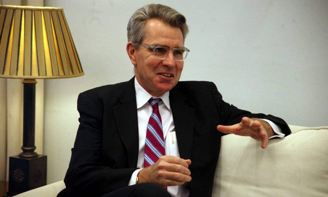 Ανησυχία Πάιατ για τις τουρκικές προκλήσεις στην κυπριακή ΑΟΖ