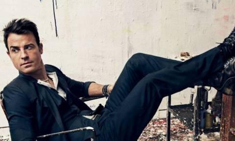 """Ο Justin Theroux """"σπάει την σιωπή"""" του, μετά το χωρισμό με την Aniston"""