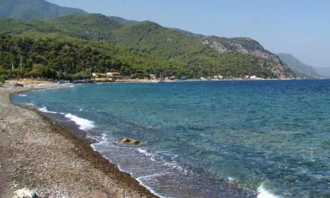 Σύννεφο σε παραλία της Αττικής σχημάτισε την Κρήτη! (photo)