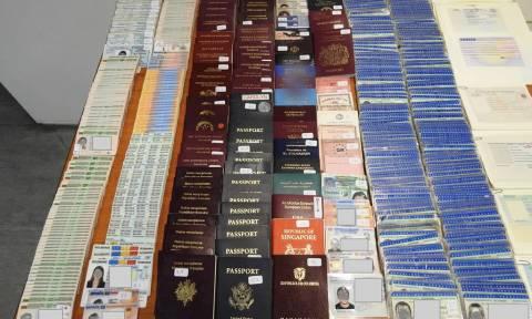 Εξάρθρωση εγκληματικής οργάνωσης που έκλεβε και παραποιούσε ταξιδιωτικά έγγραφα (pics)