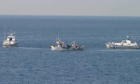 Θεσσαλονίκη: Αίσιο τέλος είχε η επιχείρηση διάσωσης αλιέα στη θάλασσα του Αγγελοχωρίου