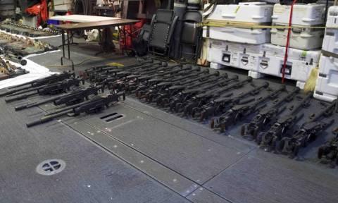 Τέσσερις χώρες καταδικάζουν το Ιράν ότι παραβίασε το εμπάργκο όπλων στην Υεμένη