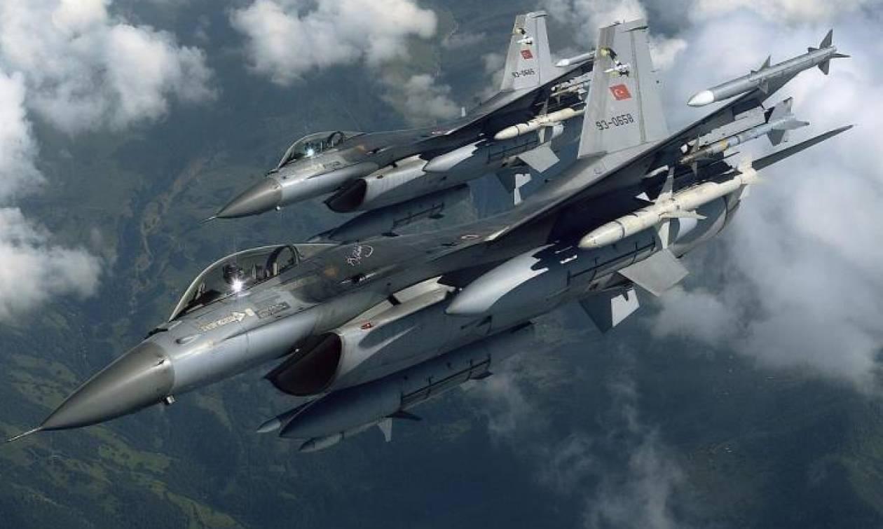 Νέα πρόκληση: Τουρκικά F-16 έκαναν το γύρο της Κύπρου