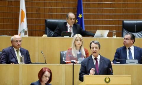 Ο Νίκος Αναστασιάδης ανέλαβε επίσημα την προεδρία για τη νέα πενταετία (video)