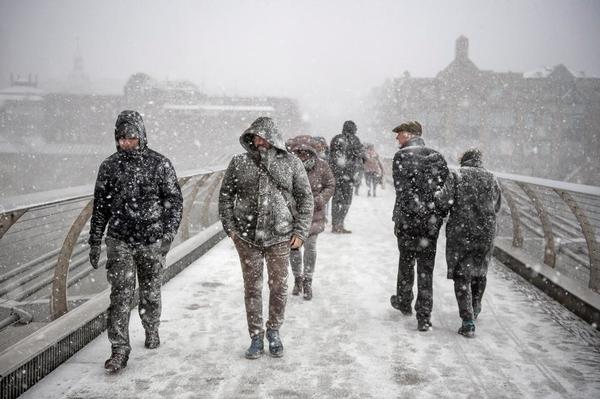 snow europe