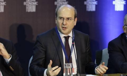 Χατζηδάκης: Με αέρα κοπανιστό, επενδύσεις δεν γίνονται