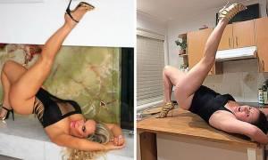 Απίθανη γυναίκα «ντροπιάζει» 20 διασημότητες του Ίνσταγκραμ! (pics)