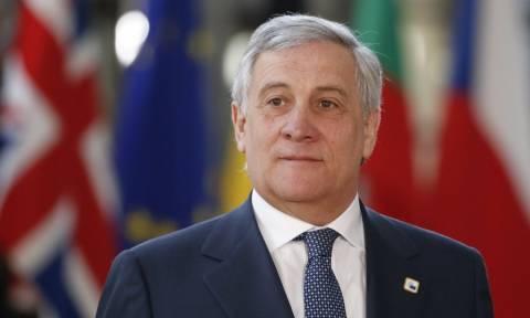 Ιταλία: Ο Αντόνιο Ταγιάνι είναι και επίσημα ο υποψήφιος πρωθυπουργός της κεντροδεξιάς