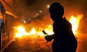 Μία ακόμα νύχτα επεισοδίων με ρίψη μολότοφ στο κέντρο της Αθήνας