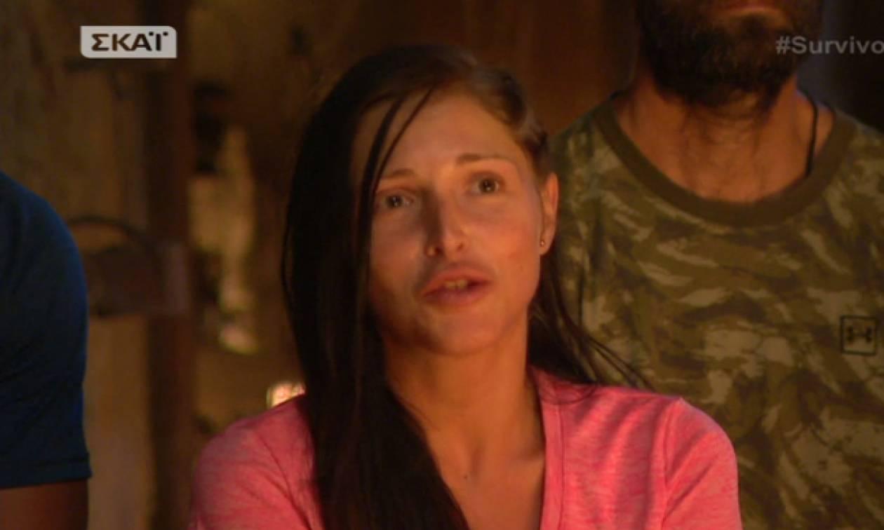 Survivor 2: «Στα σχοινιά» η Ξένια από Διάσημους και Μαχητές για την ψήφο της στον Δρυμωνάκο!