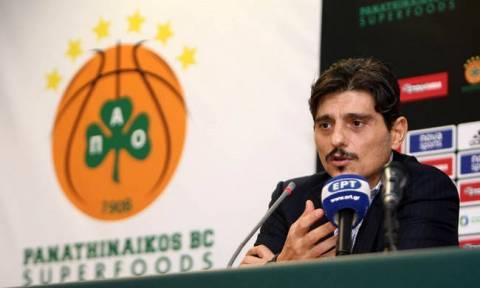 Παναθηναϊκός Superfoods - Ολυμπιακός: Στο ΟΑΚΑ ο Δημήτρης Γιαννακόπουλος (video)
