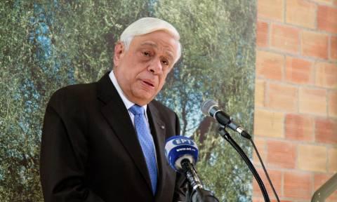 Αυστηρό μήνυμα Παυλόπουλου σε Σκόπια και Τουρκία: Σεβαστείτε την Ελλάδα και το Διεθνές Δίκαιο