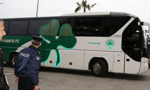 Ολυμπιακός - Παναθηναϊκός: Έφτασε στο Φάληρο το «τριφύλλι»