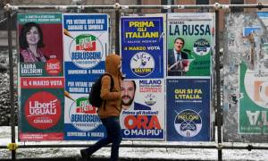 Εκλογές Ιταλία - RAI: Ουδείς εξασφαλίζει την πλειοψηφία στη Βουλή