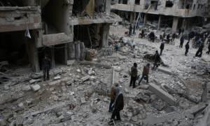 Συρία: Νεκροί 34 άμαχοι από βομβαρδισμούς στην ανατολική Γούτα