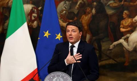 Ραγδαίες εξελίξεις στην Ιταλία: Παραιτείται ο Ματέο Ρέντσι