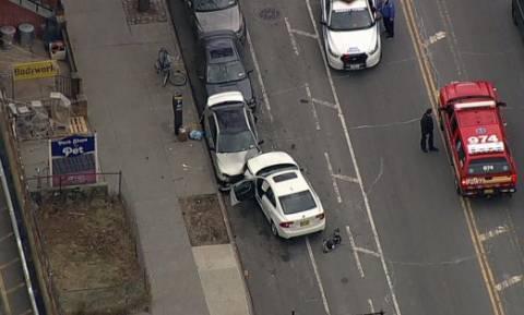 Αυτοκίνητο «θέρισε» πεζούς στο Μπρούκλιν - Δύο παιδιά νεκρά