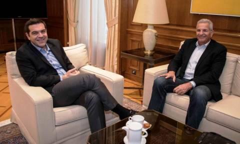 Συνάντηση Τσίπρα με τον Άντρο Κυπριανού