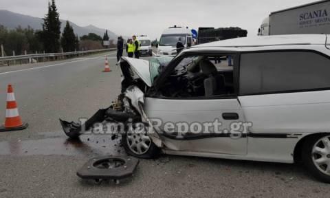 Αυτός είναι ο οδηγός που σκόρπισε τον πανικό στην Αθηνών - Λαμίας (pics)