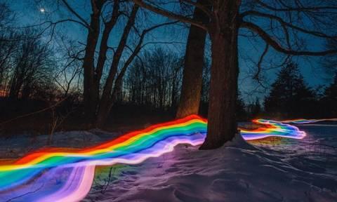 Viral: Ακολουθώντας το δρόμο του ουράνιου τόξου (Pics)