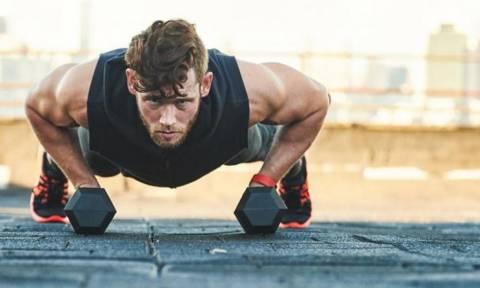 Λένε ότι αυτή η άσκηση γυμναστικής σε κάνει... Άντρα!