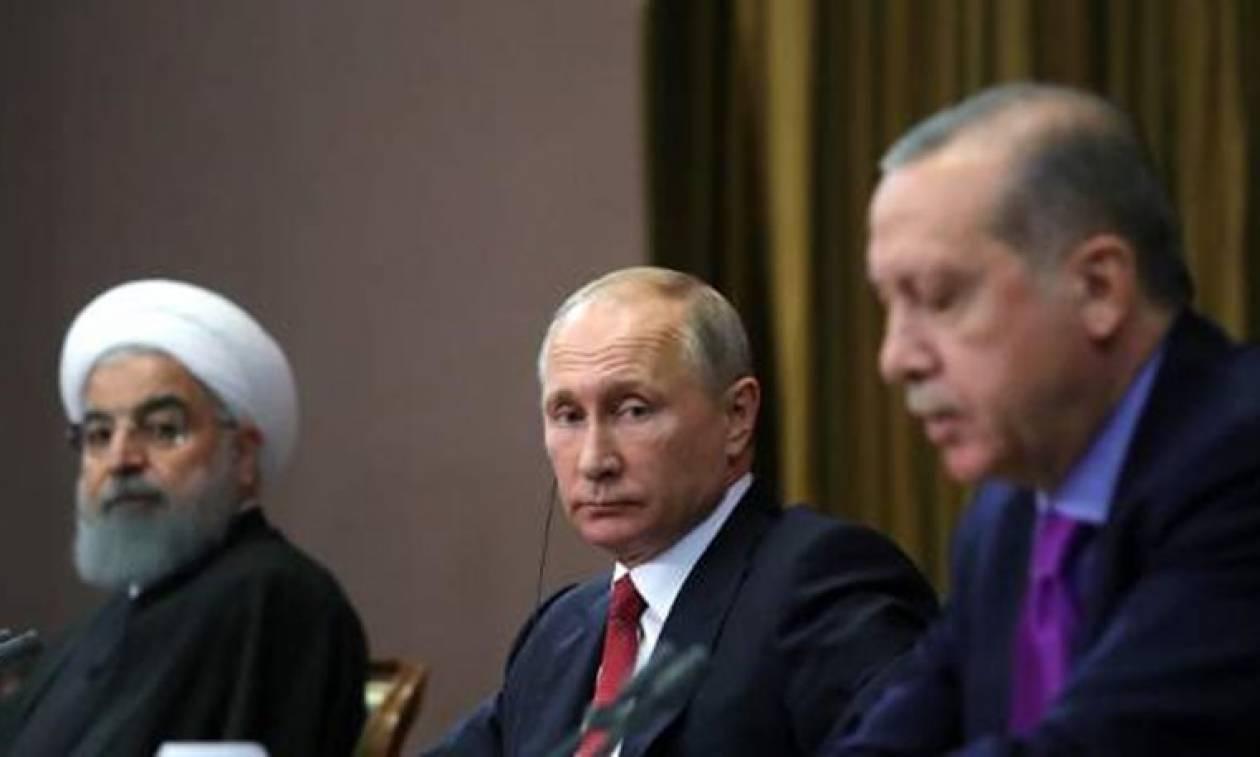 Έκτακτη συνάντηση Ερντογάν, Πούτιν και Ροχάνι