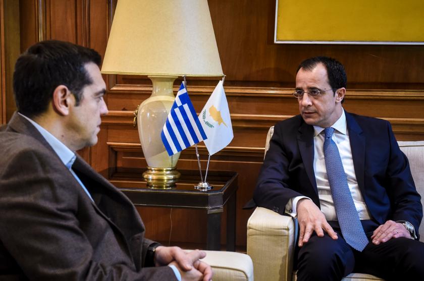 Τι συζήτησαν Τσίπρας και ΥΠΕΞ Κύπρου Χριστοδουλίδης στη συνάντησή τους (pics)