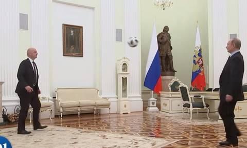 100 μέρες για το Μουντιάλ και ο Πούτιν δε μπορεί να περιμένει: Άρχισε τις κεφαλιές μέσα στο Κρεμλίνo