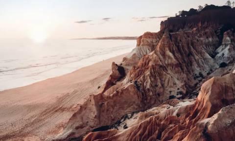 Δείτε μαγικές εικόνες από την ακτογραμμή της Πορτογαλίας!