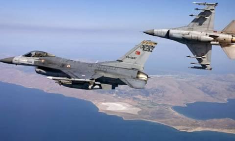 Χαμός στο Αιγαίο: Οπλισμένα τουρκικά μαχητικά πάνω από το Αρχιπέλαγος