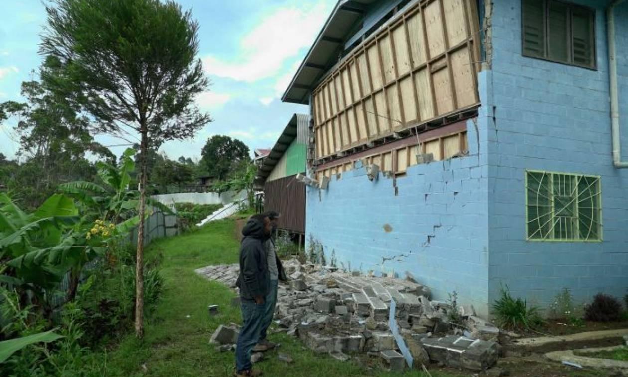 Παπούα-Νέα Γουινέα: Τουλάχιστον 18 νεκροί από το σεισμό των 6,7 Ρίχτερ