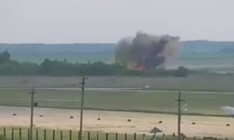 Βίντεο ντοκουμέντο: Η στιγμή της συντριβής του Antonov στη Συρία