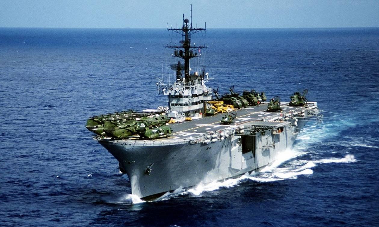 Αυτή είναι η στρατιωτική δύναμη που στέλνουν οι ΗΠΑ στην Κύπρο (vid)