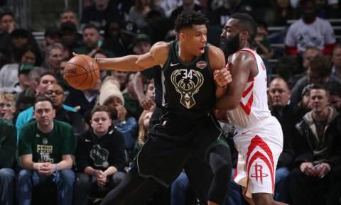 NBA: Θετικός Αντετοκούνμπο, «Ρουκέτες» στο Μιλγουόκι (pics+vid)