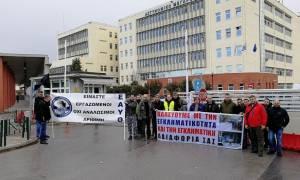 Διαμαρτυρία αστυνομικών Θεσσαλονίκης: Δεν θα γίνουμε σάκος του μποξ για τους πλειστηριασμούς
