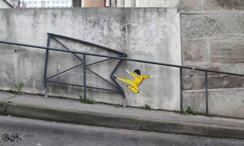 Παρεμβαίνοντας στο αστικό τοπίο: Το γκράφιτι όπως δεν το έχετε ξαναδεί (Pics)
