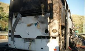Θεσσαλονίκη: Φωτιά σε λεωφορείο στο Νέο Ρύσιο